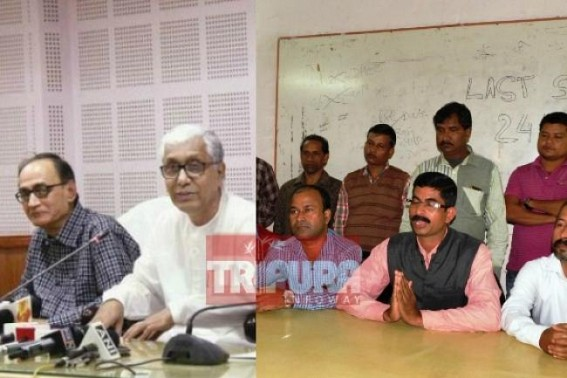 'Pashe-Achi dialogue is not working ! 50000 people are affected due to jobless conditions', said Tripura's terminated 10323 teachers
