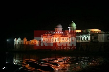 An evening view of Neermahal. TIWN Pic Feb 26