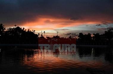 An evening view at Agartala. TIWN Pic Feb 21