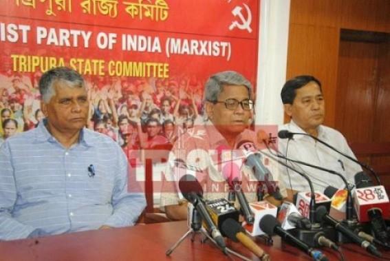 CPI-M to discuss Tripura political violence