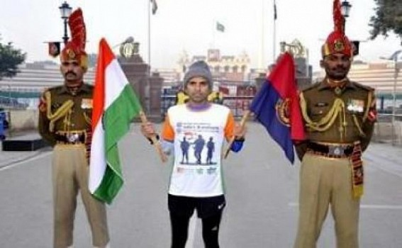 Marathon for brotherhood, peace and unity