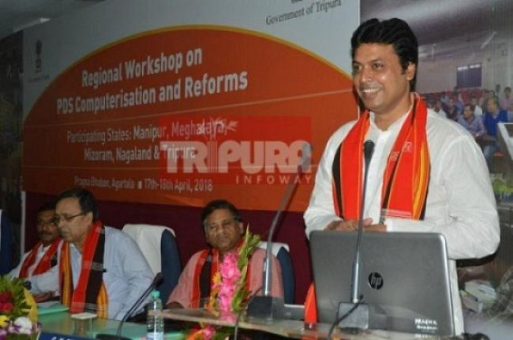 'Person who is not a good Homemaker, can't be a good CM or PM' : Biplab