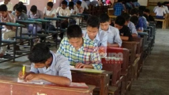 Passing rate falls heavily in TBSE Madhyamik