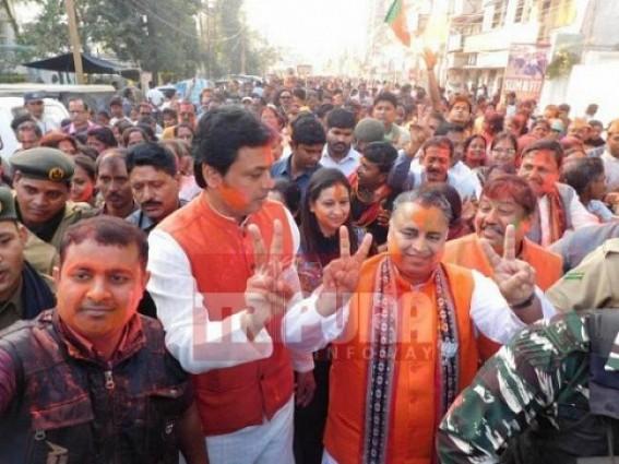 Deodhar calls Biplab Deb as 'Laadla' of Tripura