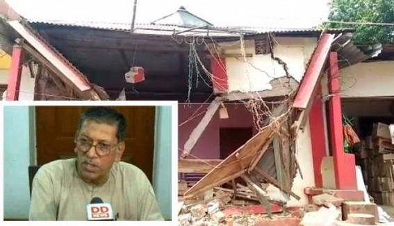 More party offices demolished, CPI-M protests