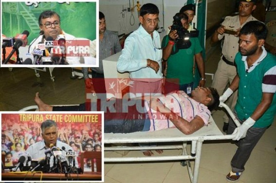 CPI-M demands strict action against Law Minister Ratan Lal Nath for instigating Statewide mob-violence by irresponsible statements of Kidney-Smuggling, killings across State