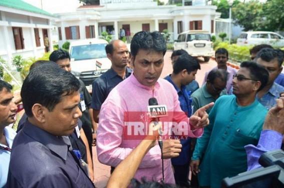 Tripura CM blames rival CPI-M for 'Rumour Mongering' leading Mob-Violence : State's Development takes backseat amid BJP, CPI-M mudslinging