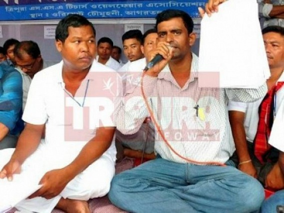 Assam Govt announces to regularize SSA teachers, Tripura SSA teachers demand regularization