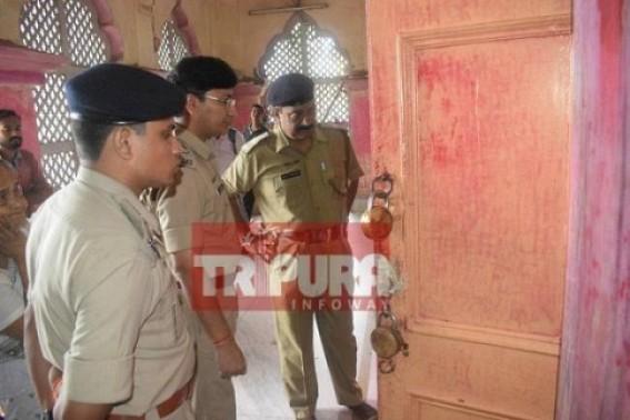 No Police success yet in Laxmi Narayan Bari loot case, thieves at large