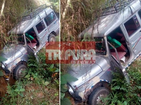 9 injured in road mishap at Ampi