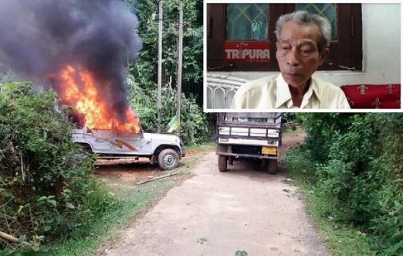 BJP's ally IPFT  shocked over BJP sponsored violence in Panchayat Poll : Minister NC Debbarma says ' Law & Order facing hardship'