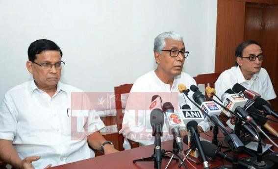 '97 % seats were forcefully vacated by BJP for Panchayat Poll' : Manik Sarkar