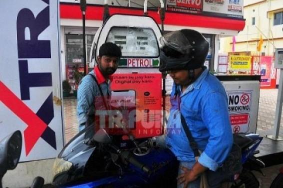 Petrol Price in Tripura crossed Rs. 82