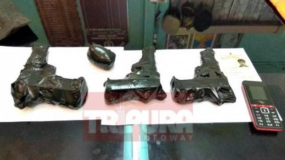 Arms smuggler arrested in North Tripura