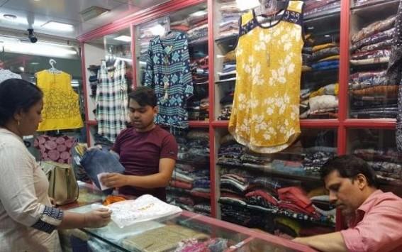 10 days left before Durga puja, Tripura markets gloom yet