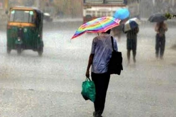 Cyclone alert, Rainy days ahead in Tripura