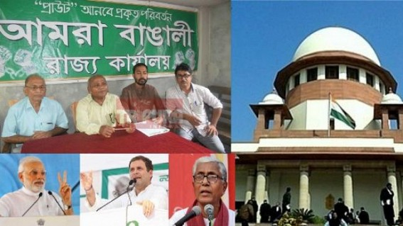'It's unfortunate, no Political Party is standing with Bengalis today', says Tripura Bengali backed party after SC's notice on NRC in state from 1948