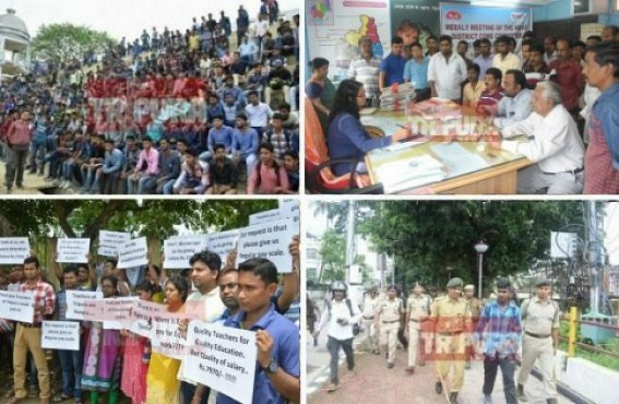 Price hike, down Economy, poverty, unemployment cripples Durga Puja celebration in Tripura : Smart phone for youths, 7th CPC turned biggest ever JUMLA