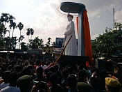 CM unveils Maharaja Bir Bikram Kishore Manikya's statue