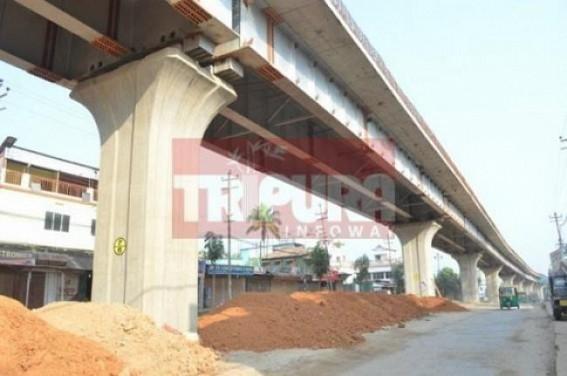 Flyover inauguration delays in Tripura