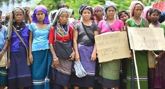 Mizoram refugees in Tripura demand setting up of polling stations