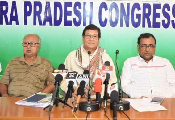 'Stop playing Dirty Politics with Reang Refugees' : Tripura Congress tells BJP Govt