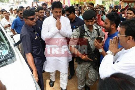 CM advises youths to buy-cows, rear-cows : BJP leaders looting Tripura's existing dairy industries