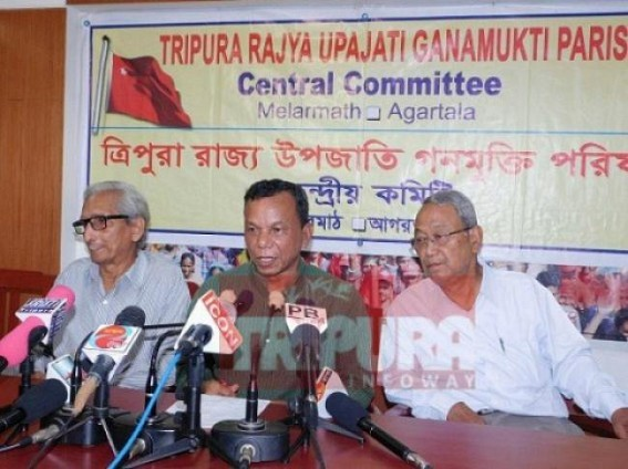'Don't snatch social pension from poor people' : CPI-M asks BJP-IPFT Govt