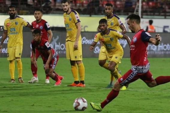 ISL: Kerala Blasters play 1-1 draw with Jamshedpur