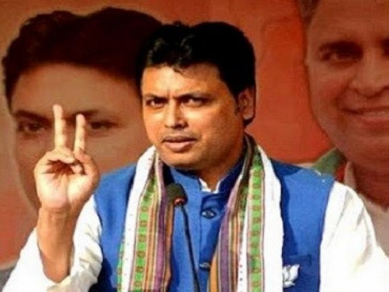 Tripura CM is BJP's star campaigner in Bengal