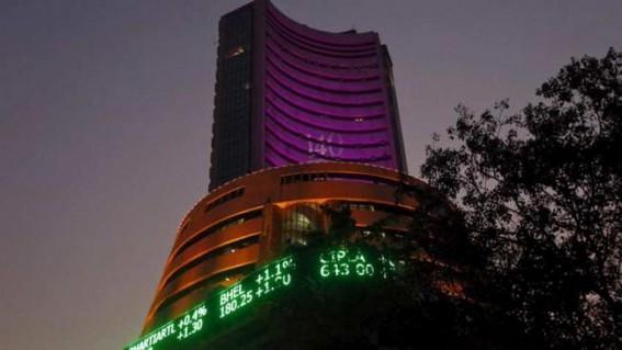 Sensex tanks 572 points over oil output cut fears, weak rupee