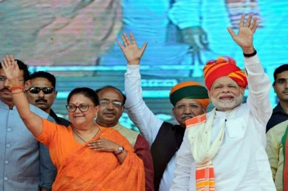 Modi appeals to Rajasthan, Telangana voters
