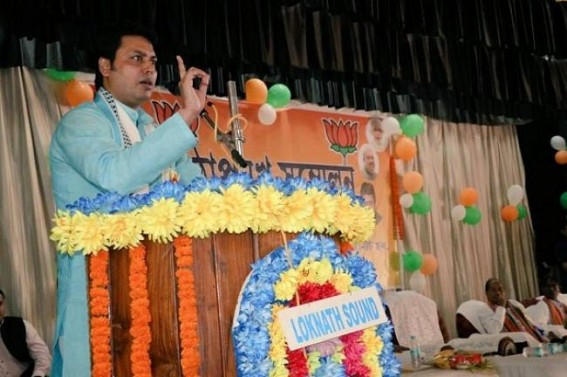 'Amit Shah took correct decision by making me BJP President' : Biplab Deb