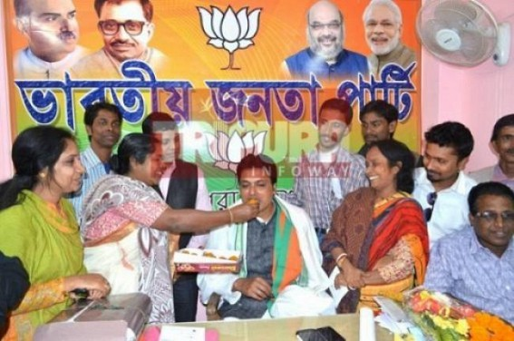 'I became BJP President on same day I took BJP membership' : Biplab Deb