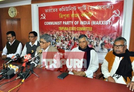 'BJP leading Tripura towards Civil War, later don't blame us' : CPI-M tells BJP Govt