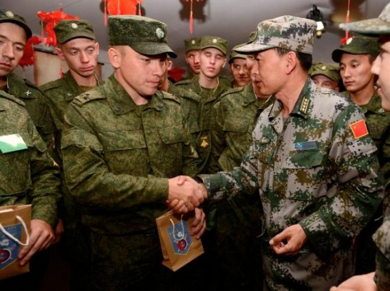 China, Russia to boost military cooperation