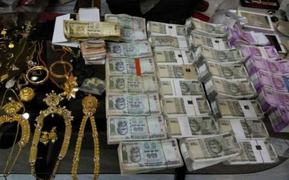 Assets worth crores found during raid at MP officer's house
