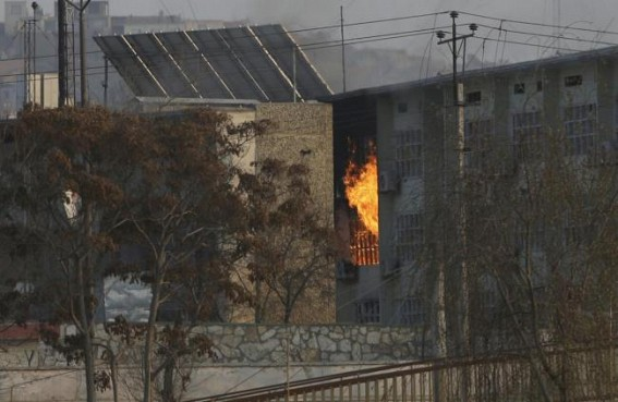 At least 32 killed in attack on Afghan govt building