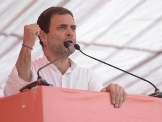 Why did Modi dodge question on middle class, Rahul asks
