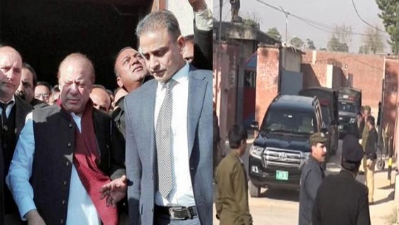 Nawaz Sharif moved to jail in Lahore