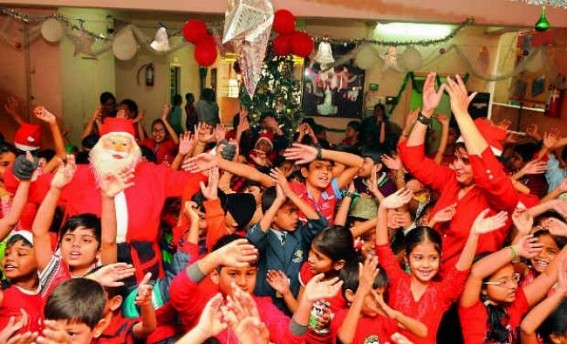 Christmas celebrated across the nation with fervour and gaiety
