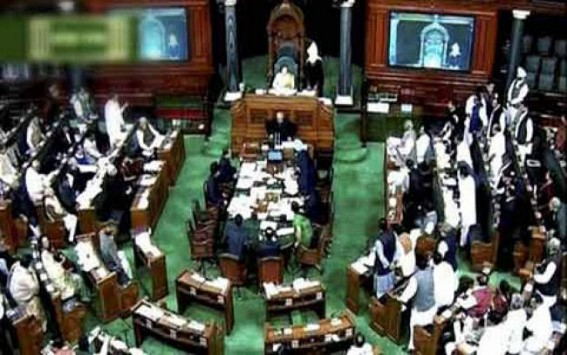 Lok Sabha approves proclamation of President's Rule in J&K