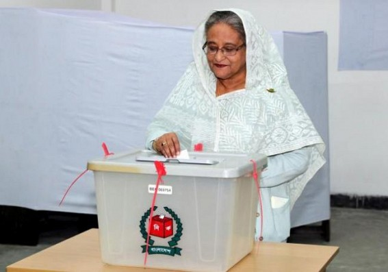 Confident about election victory: Sheikh Hasina