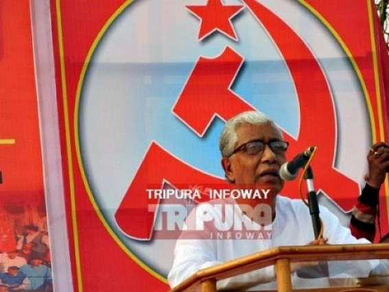 'Better if you go through the crime records of Central Home Ministry rather than BJP's campaigned crime records on Tripura' : Manik Sarkar