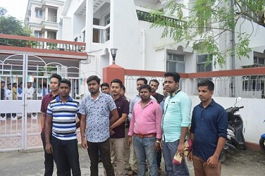 ANM passed out students met Health Minister. TIWN Pic Aug 20