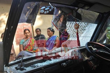BJP attacks family for celebrating BJP's national defeat. TIWN Pic Dec 12