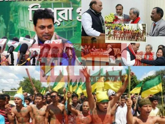 Biplab vents up frustration before Himanta  Biswa, NC Debbarma's Tipraland gameplan ! 'Ask Rajnath Singh about High Power Committee's actual function, I am just a Party Worker', Biplab tells media