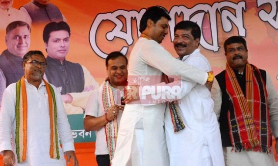 BJP Govt's 7 months report card : Only Health Minister Sudip Barman, Deputy CM Jishnu, Tourism Minister Pranajit shines above the rest, immature Biplab's replacement important for BJP's survival in Tripura