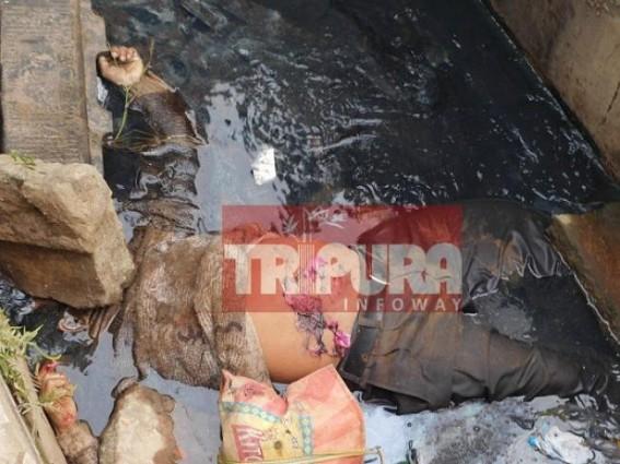 Brutal murder at Agartala Motor Stand area