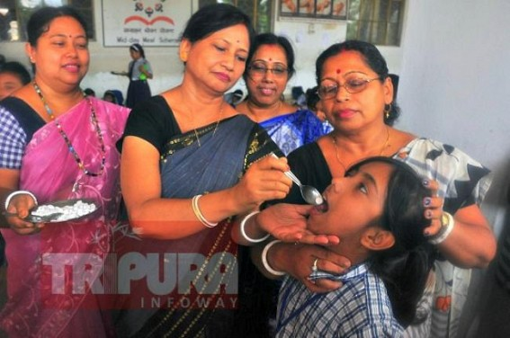 National Deworming Day observed in Tripura